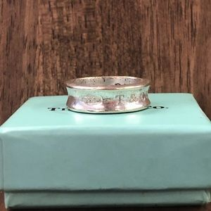 Tiffany And Co Silver Pinky Ring Size 5